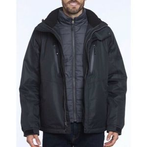 Gerry Crusade 3-in-1 System Jacket Water Resistant